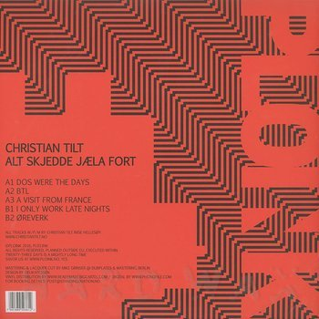 Cover art - Christian Tilt: Alt Skjedde Jæla Fort