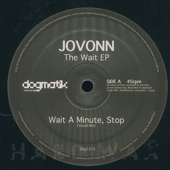 Cover art - Jovonn: The Wait EP