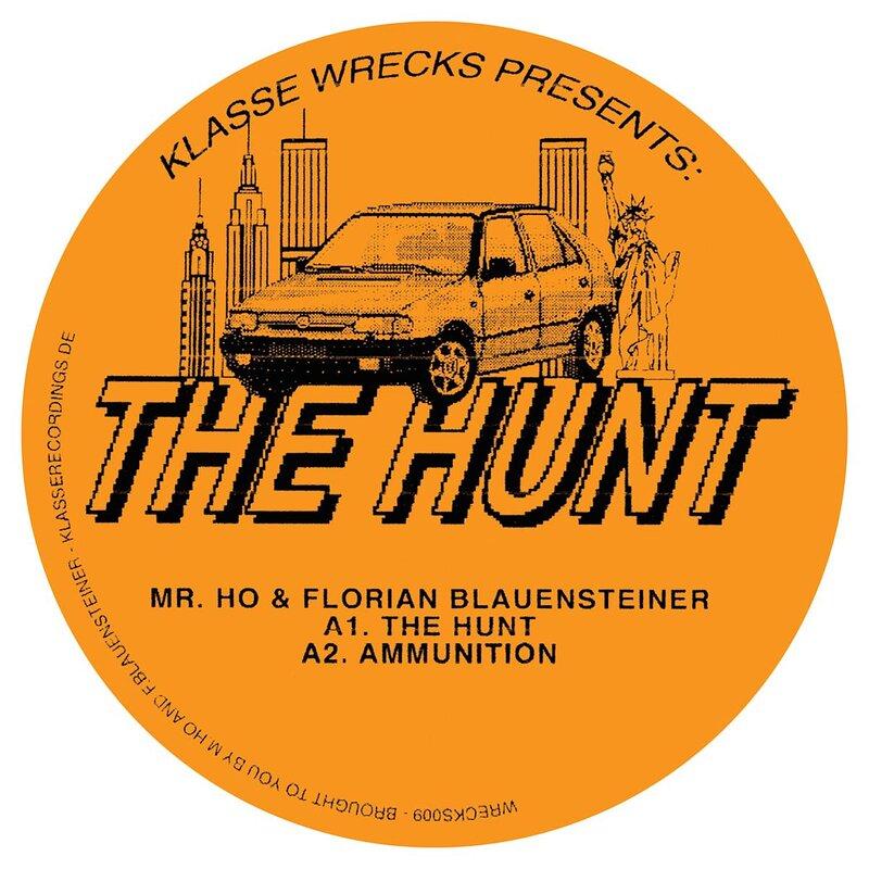 Cover art - Mr. Ho & Florian Blauensteiner: The Hunt EP