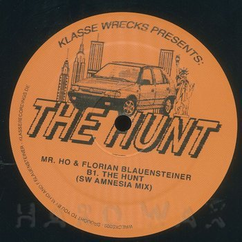 Cover art - Mr. Ho & Florian Blauensteiner: The Hunt EP