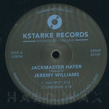 Cover art - Jeremy Williams: Jackmaster Hater Presents Jeremy Williams