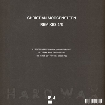 Cover art - Christian Morgenstern: Remixes 5/8
