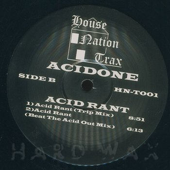 Cover art - Acidone: Acid Rant