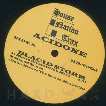 Cover art - Acidone: Blacid Storm