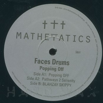 Cover art - Faces Drums: Popping Off