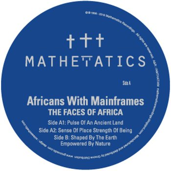 Cover art - Africans With Mainframes: The Faces Of Africa