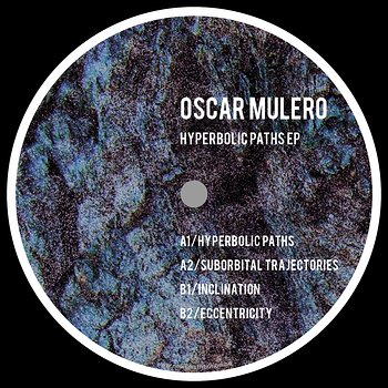 Cover art - Oscar Mulero: Hyperbolic Paths