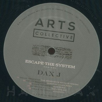 Cover art - Dax J: Escape The System Remixed