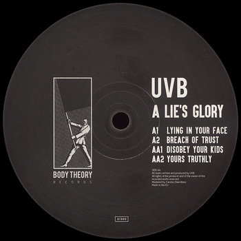 Cover art - UVB: A Lie's Glory