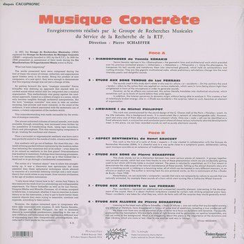 Cover art - Various Artists: Musique Concrète