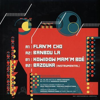 Cover art - Erick Cosaque: Kaloukera Percussions EP