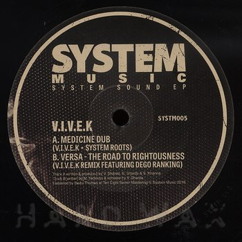 Cover art - V.I.V.E.K.: System Sound EP
