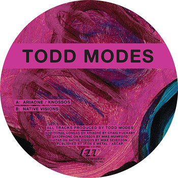 Cover art - Todd Modes: Native Visions