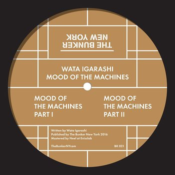 Cover art - Wata Igarashi: Mood Of The Machines