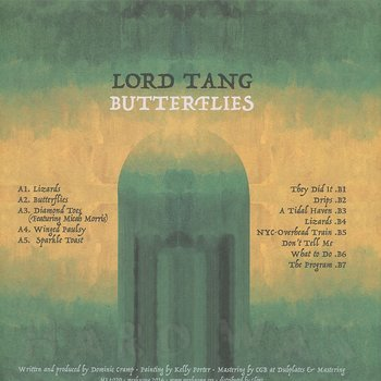 Cover art - Lord Tang: Butterflies