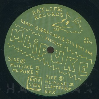 Cover art - Randy Barracuda & Stiletti-Ana: Mlipuke