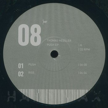Cover art - Thomas Hessler: Push