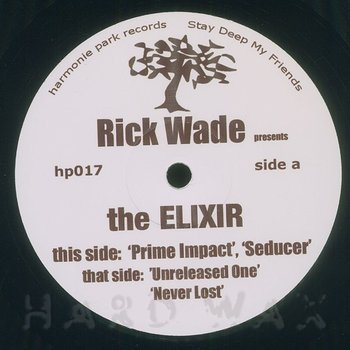 Cover art - Rick Wade: The Elixir