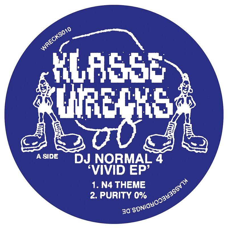 Cover art - DJ Normal 4: Vivid EP