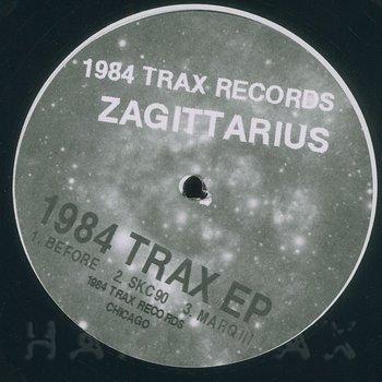 Cover art - Zagittarius: 1984 Trax EP