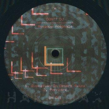 Cover art - Don't DJ: Musique Acephale