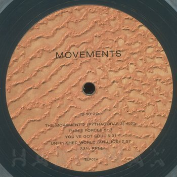 Cover art - Novo Line: Movements