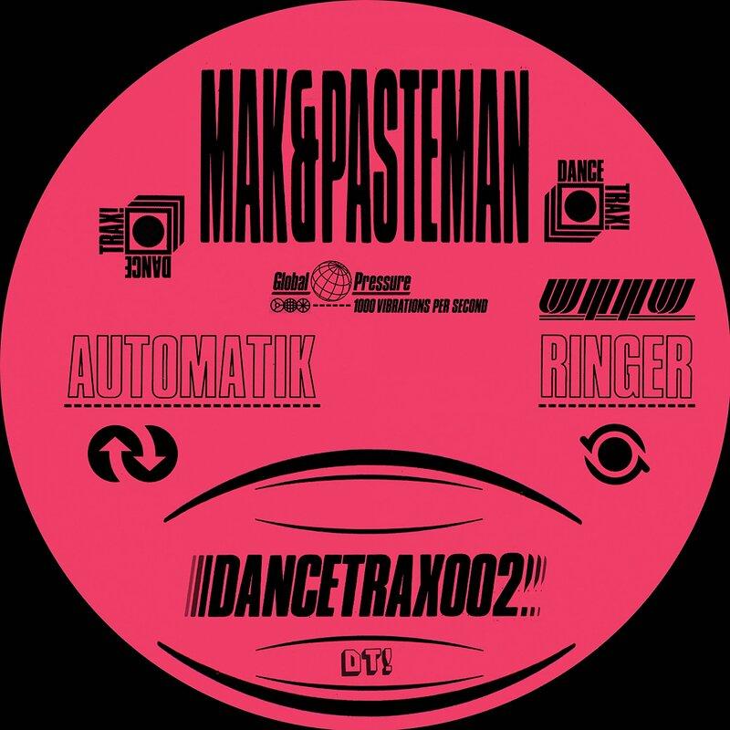 Cover art - Mak & Pasteman: Automatik