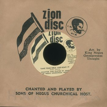 Cover art - Ras Michael & The Sons Of Negus: Take Your Bible And Read It