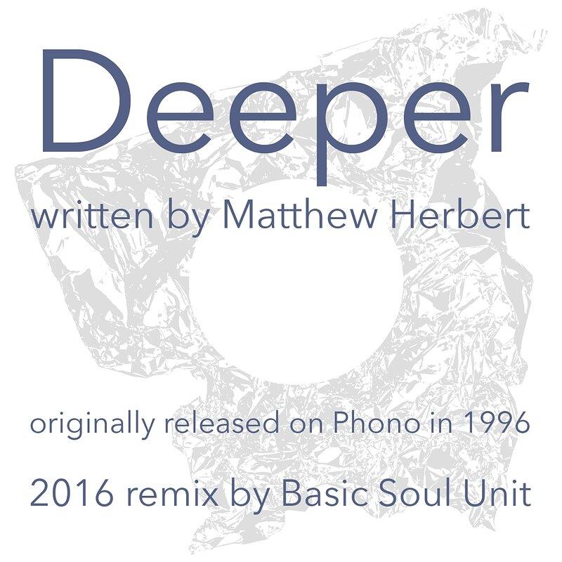 Cover art - Herbert: Deeper