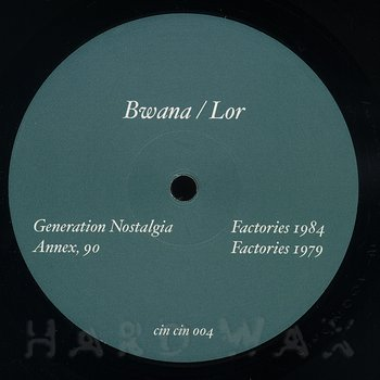 Cover art - Bwana / Lor: Cin Cin 4