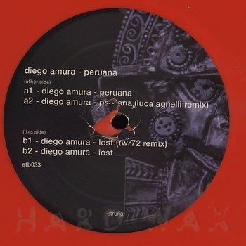 Cover art - Diego Amura: Peruana