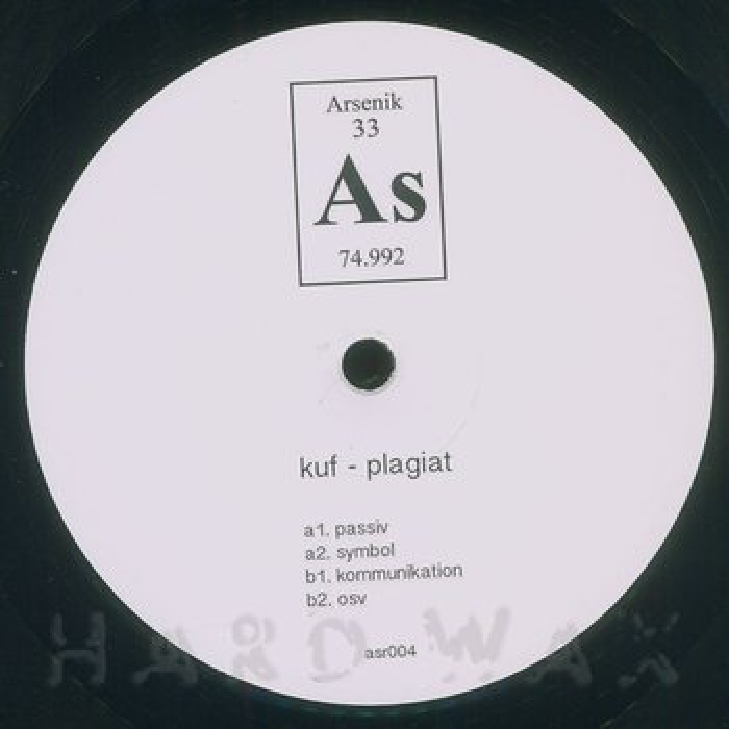 Cover art - Kuf: Plagiat