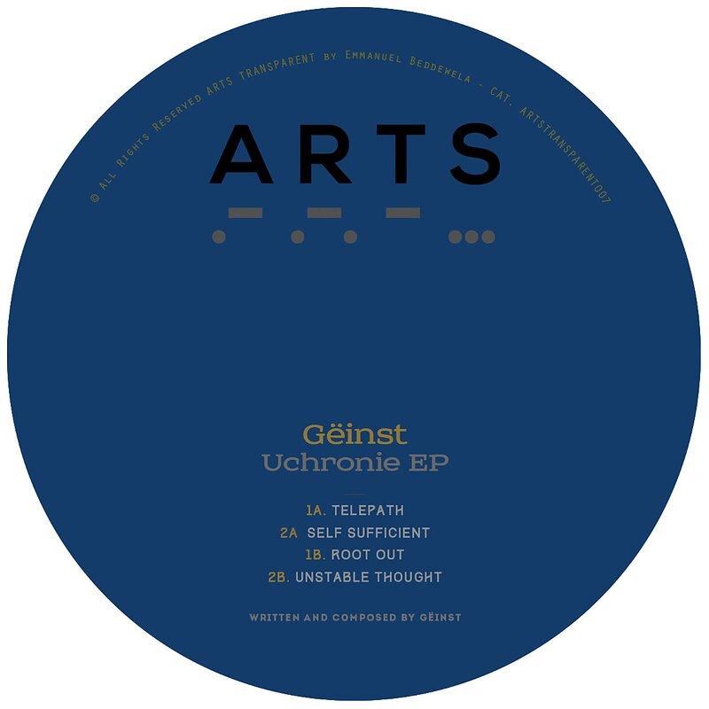 Cover art - Gëinst: Uchronie EP