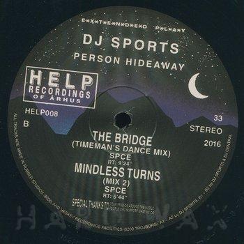 Cover art - DJ Sports / SPCE: Person Hideaway