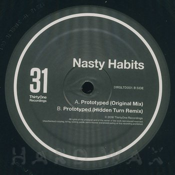 Cover art - Nasty Habits: Prototyped