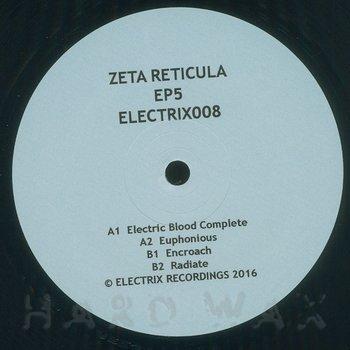 Cover art - Zeta Reticula: EP 5