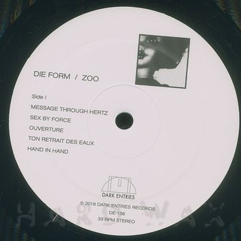 Cover art - Die Form: Zoo
