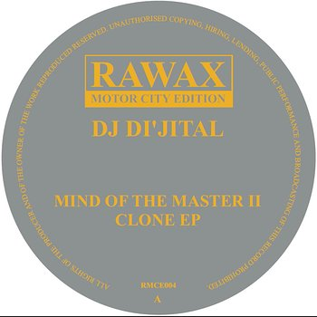 Cover art - DJ Di'jital: Mind Of The Master II - Clone EP