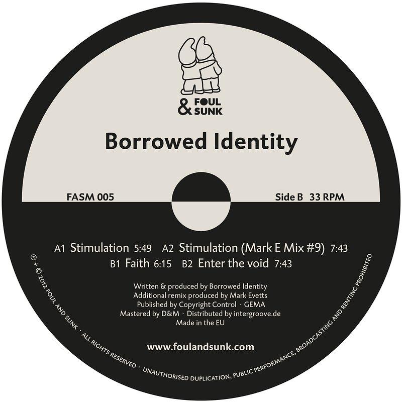 Cover art - Borrowed Identity: Stimulation