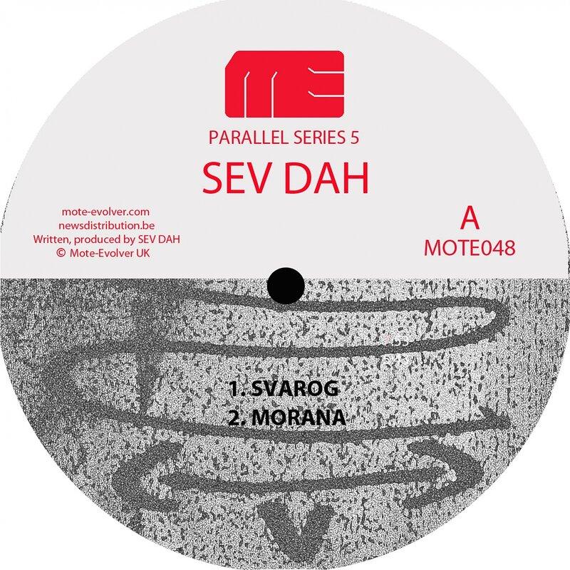 Cover art - Sev Dah / Jeff Rushin: Parallel Series 5