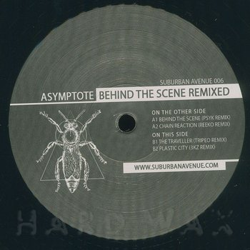 Cover art - Asymptote: Behind The Scene Remixed