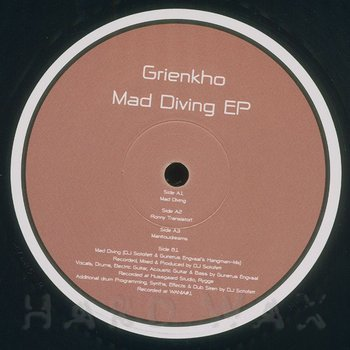 Cover art - Grienkho: Mad Diving