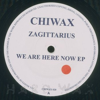 Cover art - Zagittarius: We Are Here Now