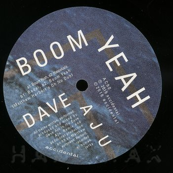 Cover art - Dave Aju: Boom Yeah EP