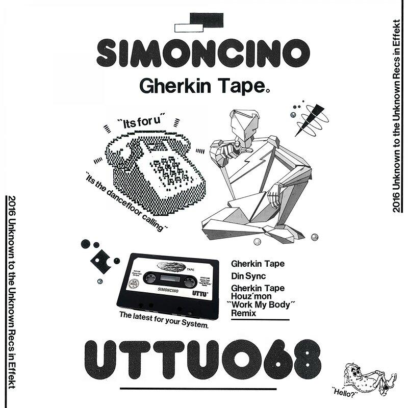 Cover art - Simoncino: Gherkin Tape