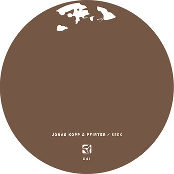 Cover art - Jonas Kopp / Pfirter: Seek EP