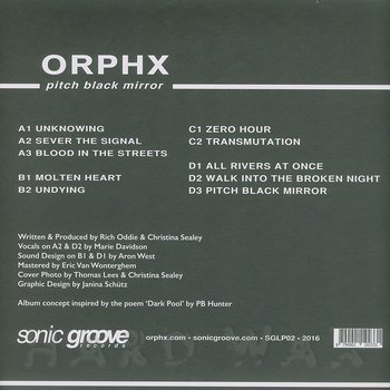 Cover art - Orphx: Pitch Black Mirror