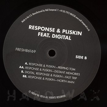 Cover art - Response & Pliskin: Peeping Tom