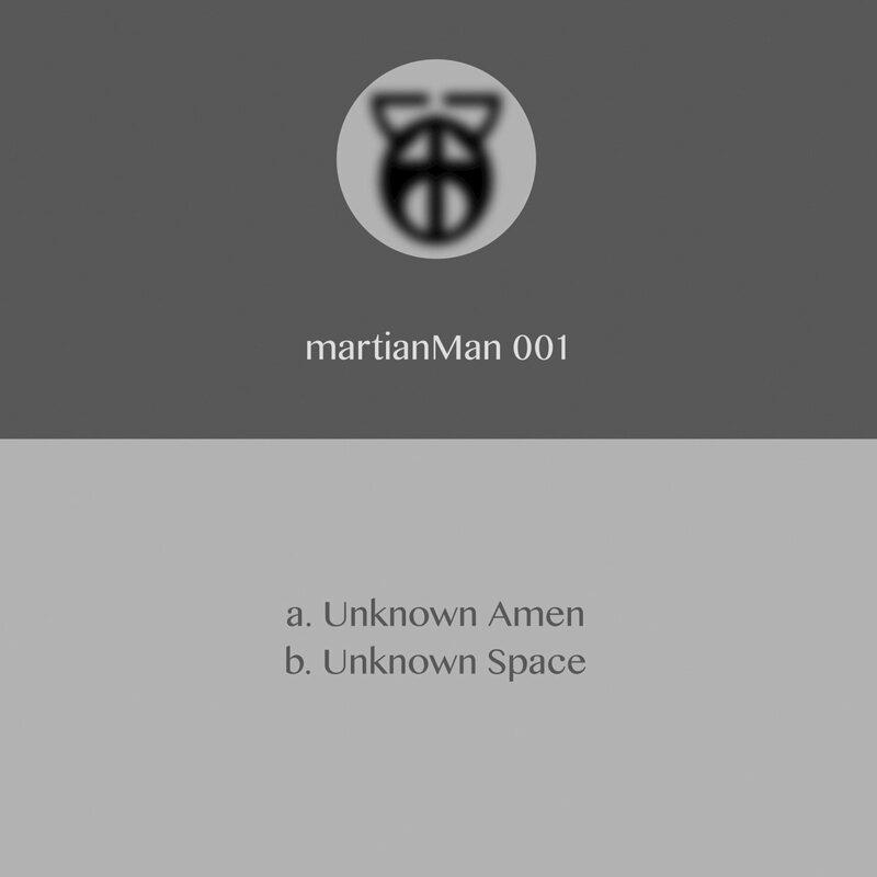 Cover art - Martian Man: Unknown Amen
