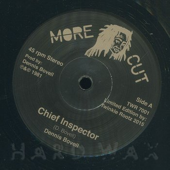 Cover art - Dennis Bovell: Chief Inspector